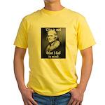 jefferson Yellow T-Shirt