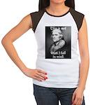 jefferson Women's Cap Sleeve T-Shirt