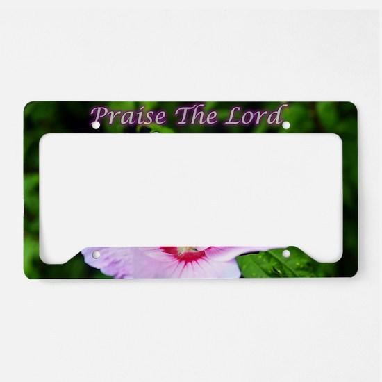Cute Garden light License Plate Holder