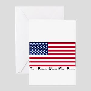 Trump Presidency Greeting Cards