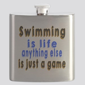 Swimming Is Life Anything Else Is Just A Gam Flask