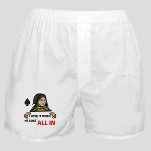 POKER QUEEN Boxer Shorts