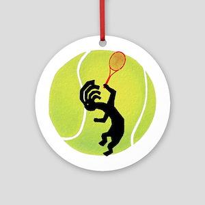 Kokopelli Tennis Ornament (Round)