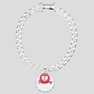 courtney Charm Bracelet, One Charm