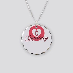 courtney Necklace Circle Charm