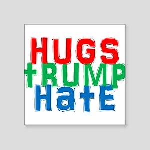 hugs trump hate Sticker