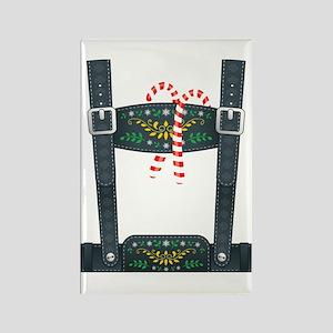 Elf Lederhosen Rectangle Magnet