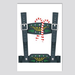Elf Lederhosen Postcards (Package of 8)