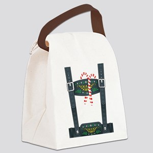 Elf Lederhosen Canvas Lunch Bag