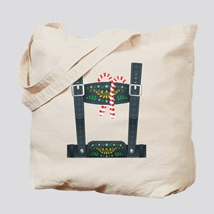 Elf Lederhosen Tote Bag