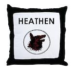 Heathen/Wolf Throw Pillow
