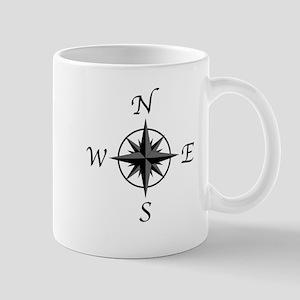 Compass Arrows Mugs