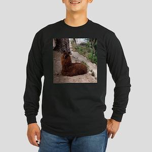 CUTE ALPACA Long Sleeve Dark T-Shirt