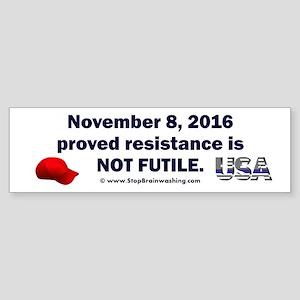 Donald Trump Sticker (Bumper)