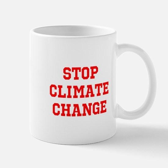 stop climate change Mugs