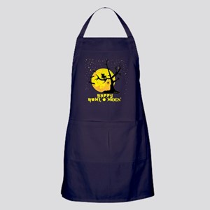 Happy Howl-o-Ween Apron (dark)