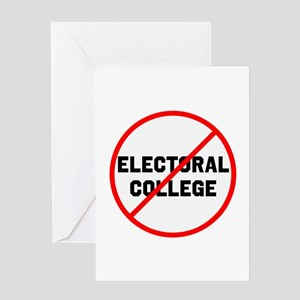 No electoral college Greeting Cards