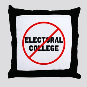 No electoral college Throw Pillow