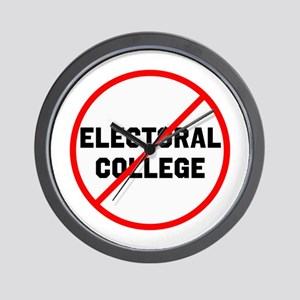 No electoral college Wall Clock