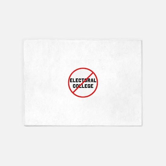 No electoral college 5'x7'Area Rug