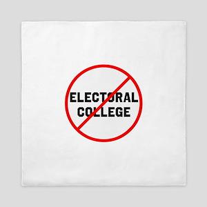 No electoral college Queen Duvet