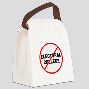 No electoral college Canvas Lunch Bag