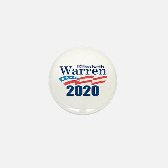Warren 2020 Mini Button (10 pack)