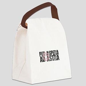 Per aspera ad astra Canvas Lunch Bag