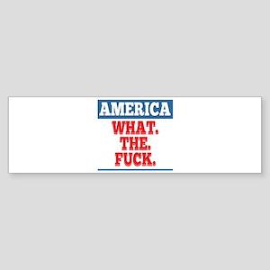 What. The. Fuck. Sticker (Bumper)