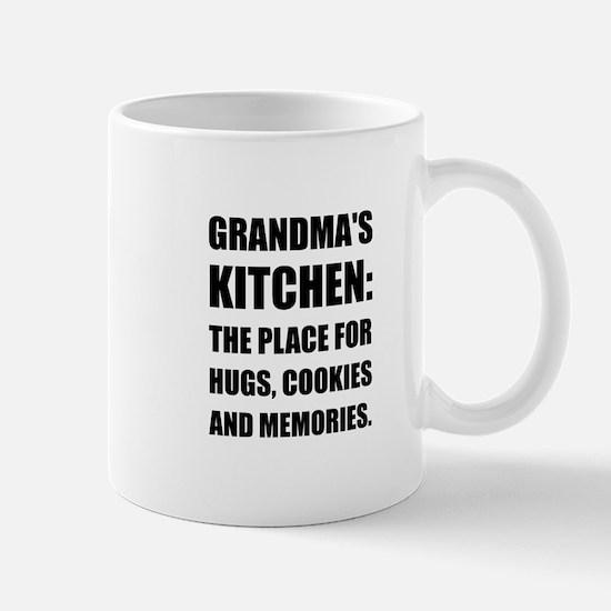 Grandma Hugs Cookies Memories Mugs