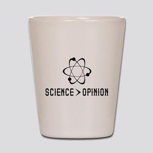Science Opinion Shot Glass