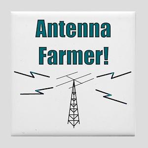 Antenna Farmer! Tile Coaster