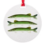 Chain Pickerel Ornament