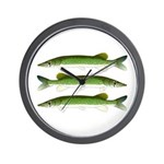 Chain Pickerel Wall Clock