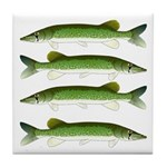 Chain Pickerel Tile Coaster