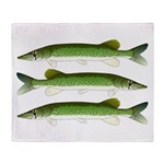 Chain Pickerel Throw Blanket