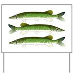 Chain Pickerel Yard Sign