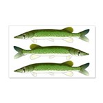Chain Pickerel Wall Decal