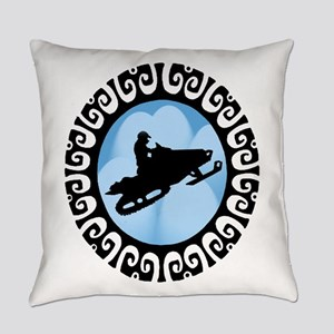 SNOWMOBILE Everyday Pillow