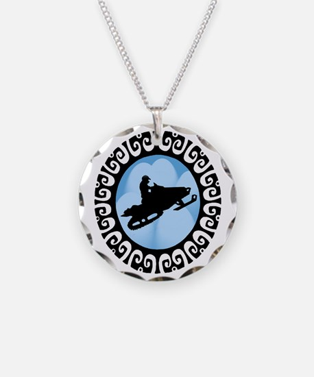 SNOWMOBILE Necklace