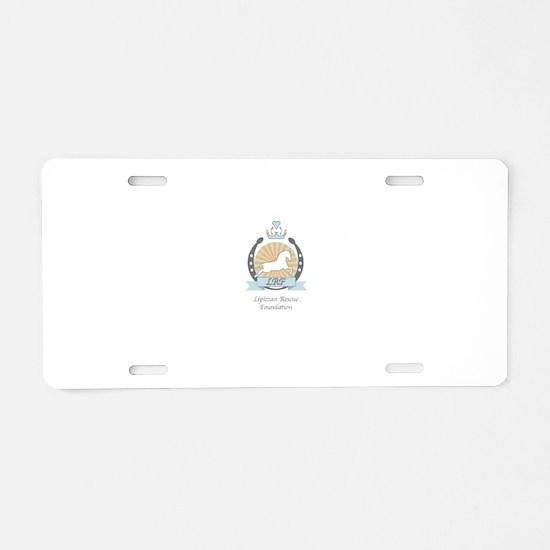 Lipizzan Rescue Foundation Aluminum License Plate