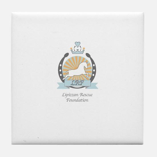 Lipizzan Rescue Foundation Tile Coaster