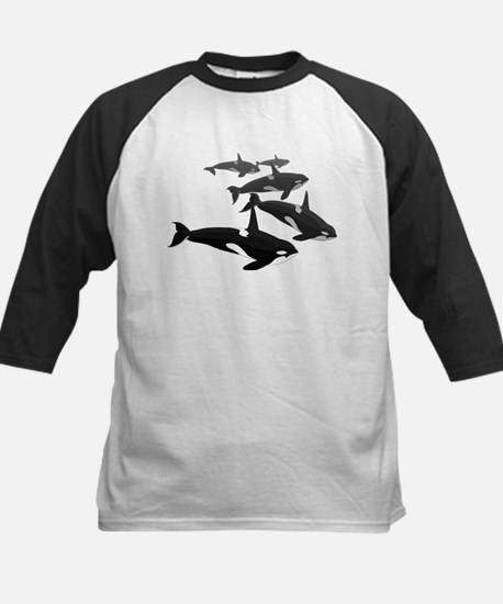 Orca Whale Art Gifts Baseball Jersey