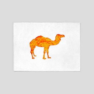CAMEL 5'x7'Area Rug