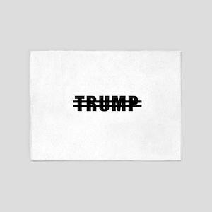 Never Trump 5'x7'Area Rug