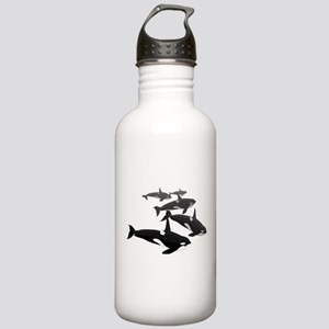 Orca Whale Art Gifts Stainless Water Bottle 1.0L