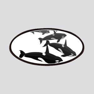 Orca Whale Art Gifts Patch