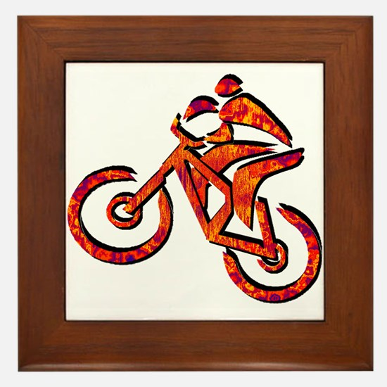 RIDE Framed Tile