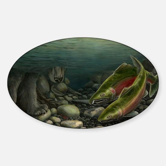 Fishermans Coho Salmon Decal