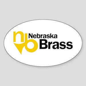 Nebraska Brass Sticker